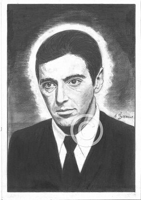 Al Pacino Pencil Portrait
