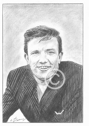 Albert Finney Pencil Portrait