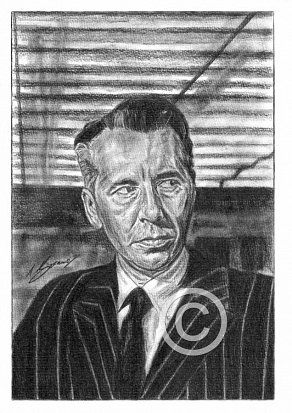 Alexander Knox Pencil Portrait