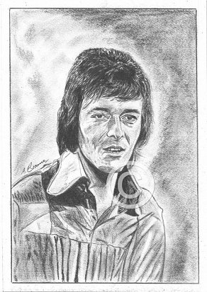 Allan Clarke Pencil Portrait
