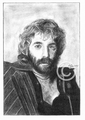Andrew Gold Pencil Portrait