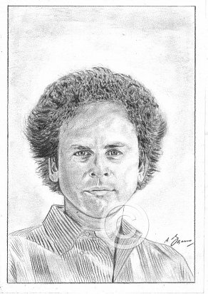 Art Garfunkel Pencil Portrait