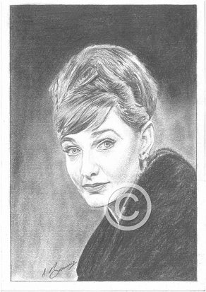 Barbara Murray Pencil Portrait