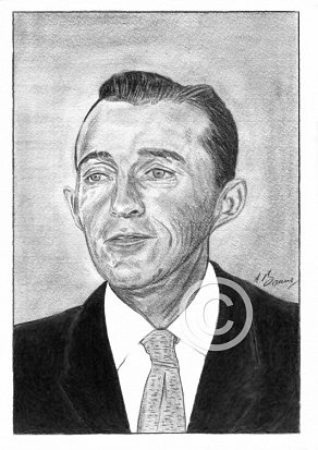 Bing Crosby Pencil Portrait