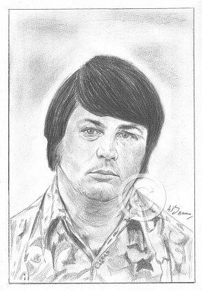 Brian Wilson Pencil Portrait