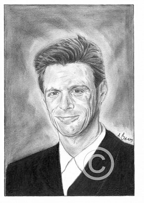 Bryan Adams Pencil Portrait