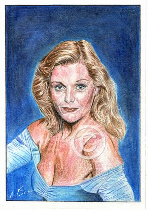 Carol Lynley Pencil Portrait