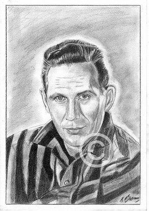 Chet Atkins Pencil Portrait