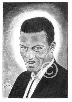 Chuck Berry Pencil Portrait