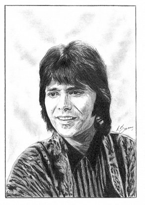 Cliff Richard Pencil Portrait