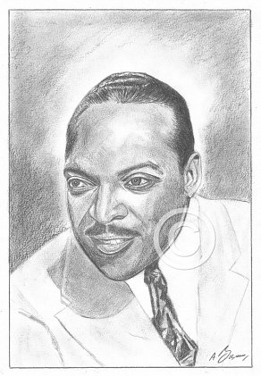 Count Basie Pencil Portrait