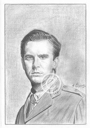 Dan Stevens Pencil Portrait