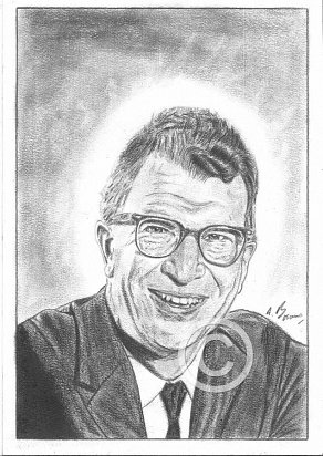 Dave Brubeck Pencil Portrait
