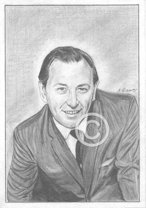 David Coleman Pencil Portrait