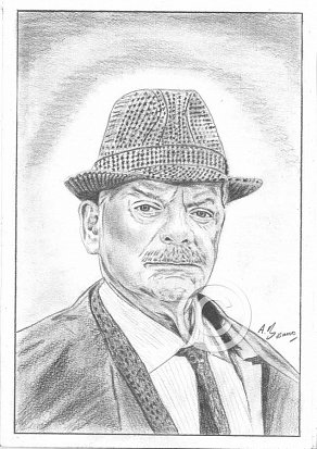 David Jason Pencil Portrait