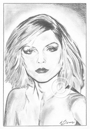 Debbie Harry Pencil Portrait