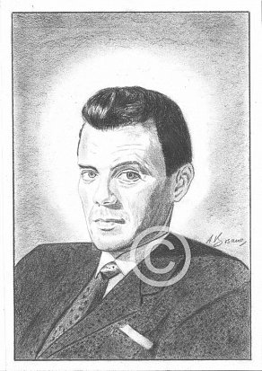 Dirk Bogarde Pencil Portrait