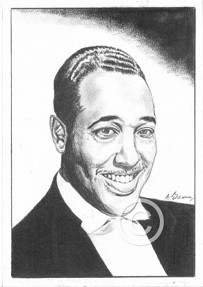 Duke Ellington Pencil Portrait