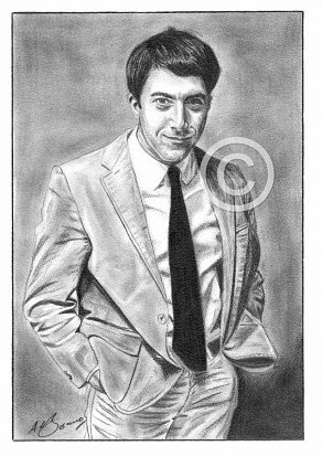 Dustin Hoffman Pencil Portrait