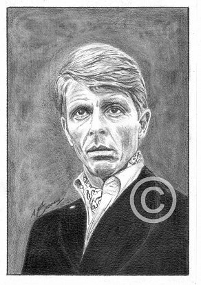 Edward Fox Pencil Portrait