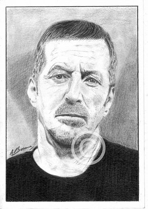 Eric Clapton Pencil Portrait