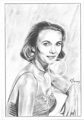 Eve Marie Saint Pencil Portrait