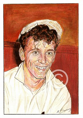 Gene Vincent Pencil Portrait
