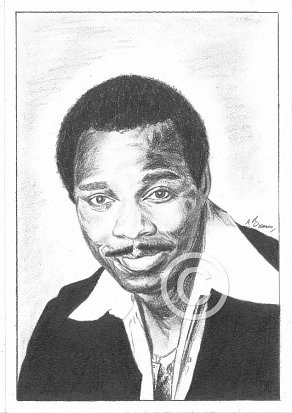 George Benson Pencil Portrait
