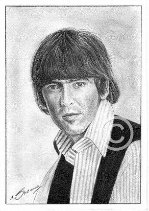 George Harrison Pencil Portrait