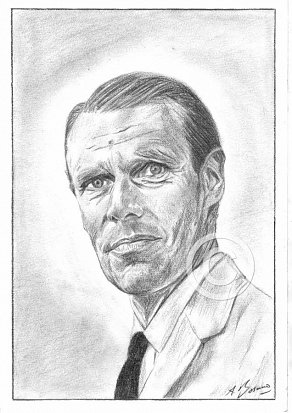 George Martin Pencil Portrait