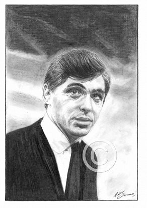 Georgie Fame Pencil Portrait
