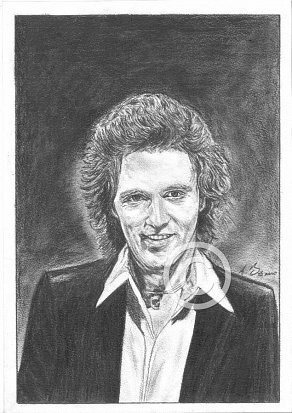 Gilbert O'Sullivan Pencil Portrait