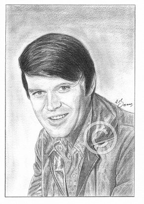 Glen Campbell Pencil Portrait