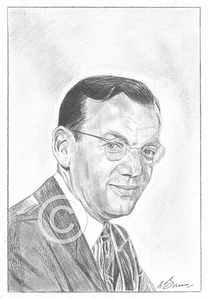 Glen Miller Pencil Portrait