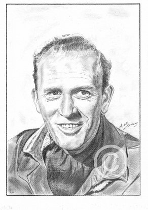 Gordon Jackson Pencil Portrait