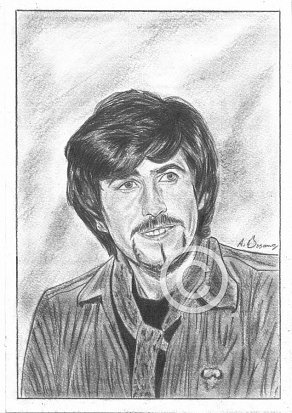Graham Nash Pencil Portrait