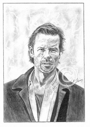 Guy Pearce Pencil Portrait