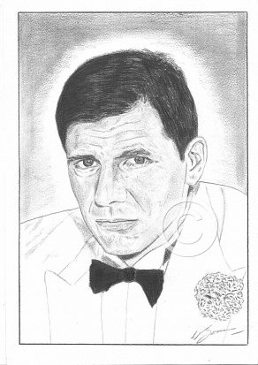 Harrison Ford Pencil Portrait