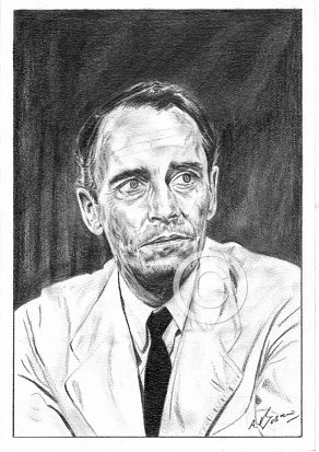 Henry Fonda Pencil Portrait