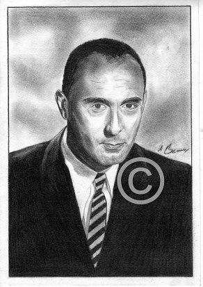 Henry Mancini Pencil Portrait