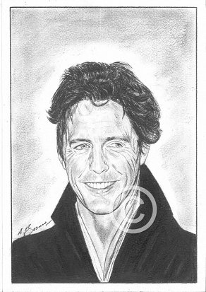 Hugh Grant Pencil Portrait