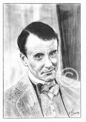 Ian Bannen Pencil Portrait