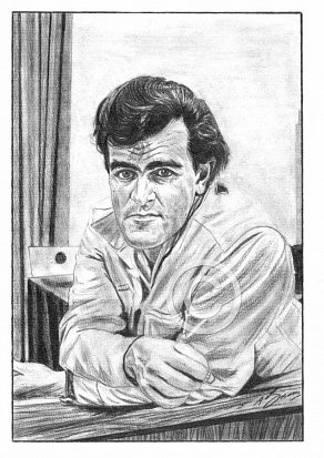 Ian Stewart Pencil Portrait