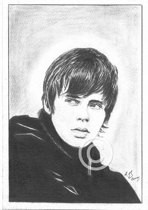 Jake Bugg Pencil Portrait