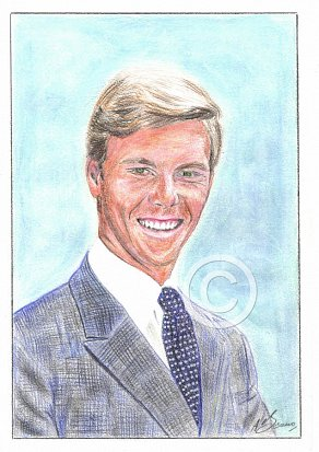 James Fox Pencil Portrait
