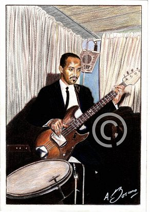 James Jamerson Pencil Portrait