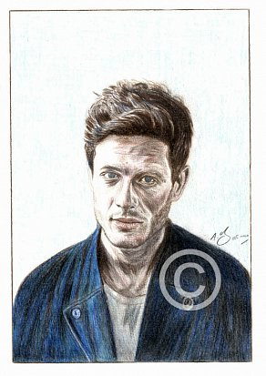James Norton Pencil Portrait