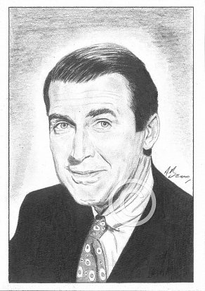James Stewart Pencil Portrait