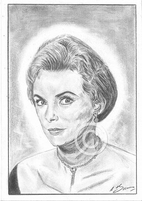 Janet Leigh Pencil Portrait