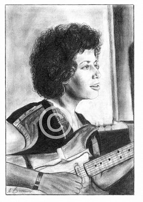 Janis Ian Pencil Portrait